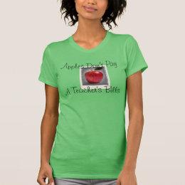 先生の感謝 Tシャツ
