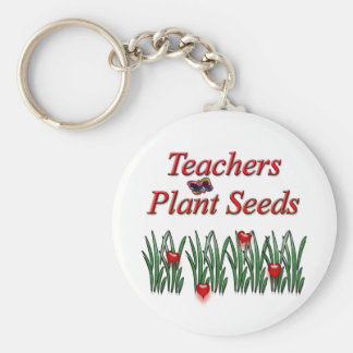 先生の植物の種 キーホルダー