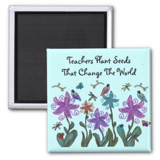 先生の植物は磁石を播きます マグネット