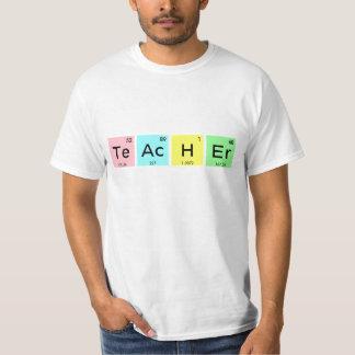 先生の要素 Tシャツ