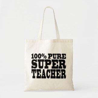 先生の誕生会100%の純粋なすごい先生 トートバッグ