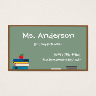 先生の黒板の名刺 名刺