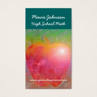 先生のApple、Mavisジョンソンの高等学校のマット… 名刺