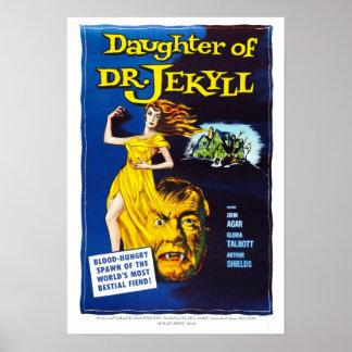 先生のJekyll Poster娘 ポスター
