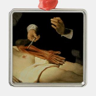 先生のNicolaes Tulp 1632年解剖学のレッスン メタルオーナメント