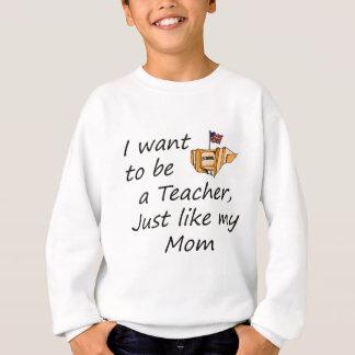 先生はお母さんを好みます スウェットシャツ