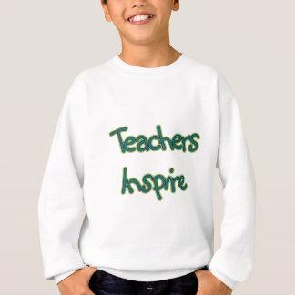 先生はインスパイア(緑) スウェットシャツ
