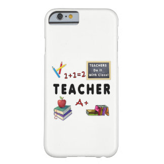 先生はクラスとのそれをします iPhone 6 ベアリーゼアケース
