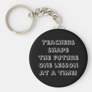 先生は未来の1つのレッスンを一度に形づけます! キーホルダー