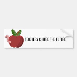 先生は未来を変えます バンパーステッカー