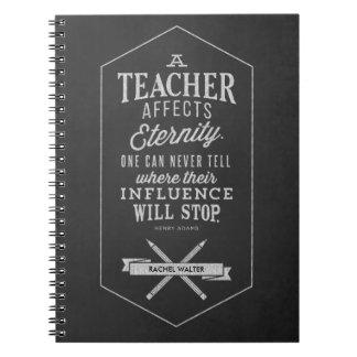 先生は永遠に影響を与えます ノートブック