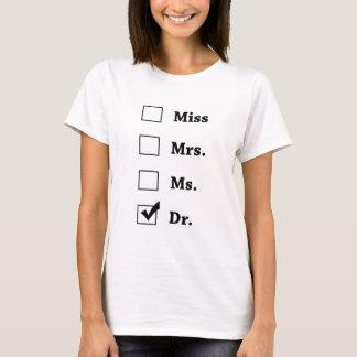 先生ワイシャツ氏氏夫人 Tシャツ