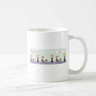 先生学生の漫画#1 コーヒーマグカップ