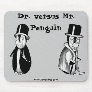 先生対Penguin氏 マウスパッド