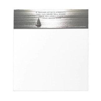 先生-小さいメモ帳のためのサンタモニカの航行、 ノートパッド