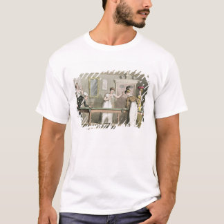 「先生Syntaxの旅行からのビリヤード台、 Tシャツ