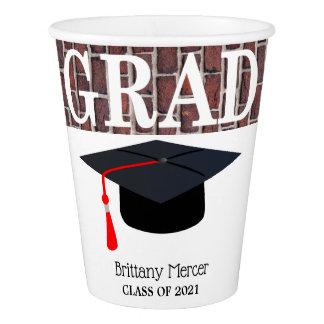 先輩の卒業生 紙コップ