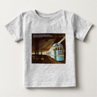 先駆的そよ風1934の乳児 ベビーTシャツ