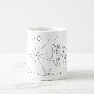 先駆的プラク コーヒーマグカップ
