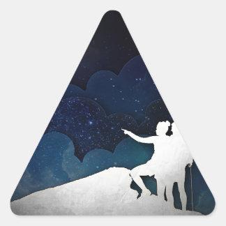 先駆者II 三角形シール