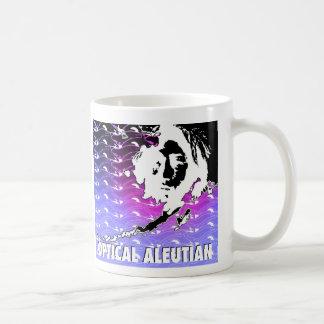 光学アリューシャン コーヒーマグカップ