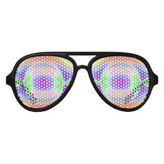 光学スペクトルの目 アビエーターサングラス