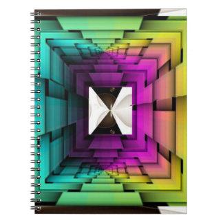光学虹色 ノートブック
