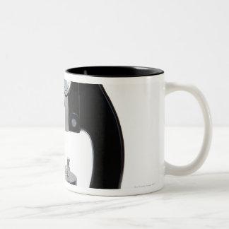 光学顕微鏡2 ツートーンマグカップ