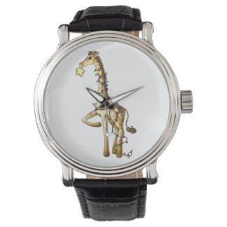 光沢があるキリン 腕時計