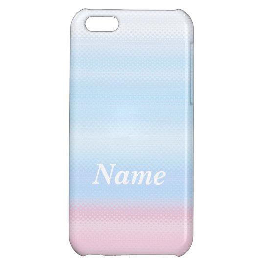 光沢があるパステルカラー デコレーション iPhone 5C Case iPhone5C