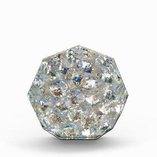 光沢がある水晶のアクリルの八角形賞 表彰盾