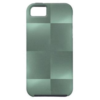 光沢がある点検のティール(緑がかった色) iPhone SE/5/5s ケース