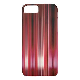 光沢がある赤い速度ライン iPhone 8/7ケース