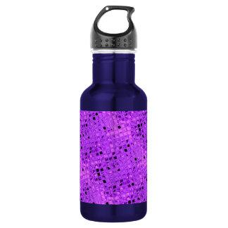 光沢がある金属紫色の紫色のブドウのダイヤモンド ウォーターボトル