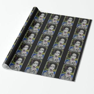 光沢のある包装紙の「ZombGeisha」 ラッピングペーパー