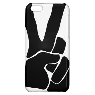 光沢のあるiPhone 5cの平和場合 iPhone5Cケース