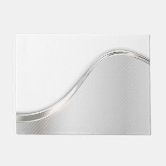 光波の抽象芸術の玄関マット ドアマット