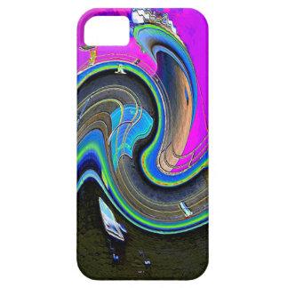 光波 iPhone SE/5/5s ケース
