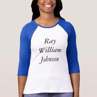 光線のウィリアムジョンソンのティー Tシャツ