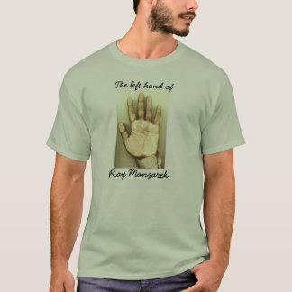 光線の左手 Tシャツ