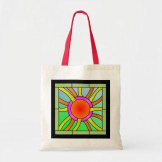 光線のDecoの芸術の日曜日 トートバッグ