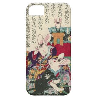 兎の歌舞伎役者、ウサギ、Yoshifuji、Ukiyo-eの芳藤俳優 iPhone SE/5/5s ケース