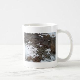 入り江および石 コーヒーマグカップ