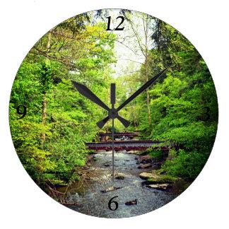 入り江の時計 ラージ壁時計