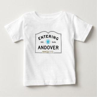 入るアンドーバー ベビーTシャツ