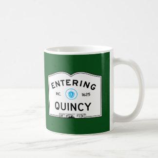 入るクインシー コーヒーマグカップ