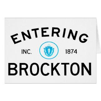 入るBrockton カード