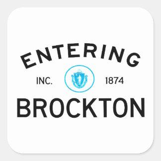 入るBrockton スクエアシール