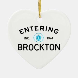 入るBrockton セラミックオーナメント
