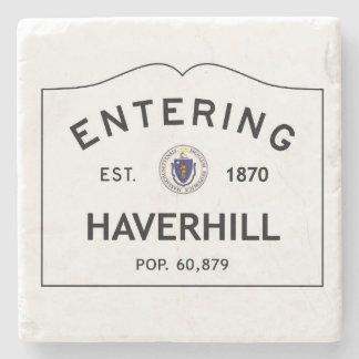 入るHaverhillの大理石のコースターの石のコースター ストーンコースター